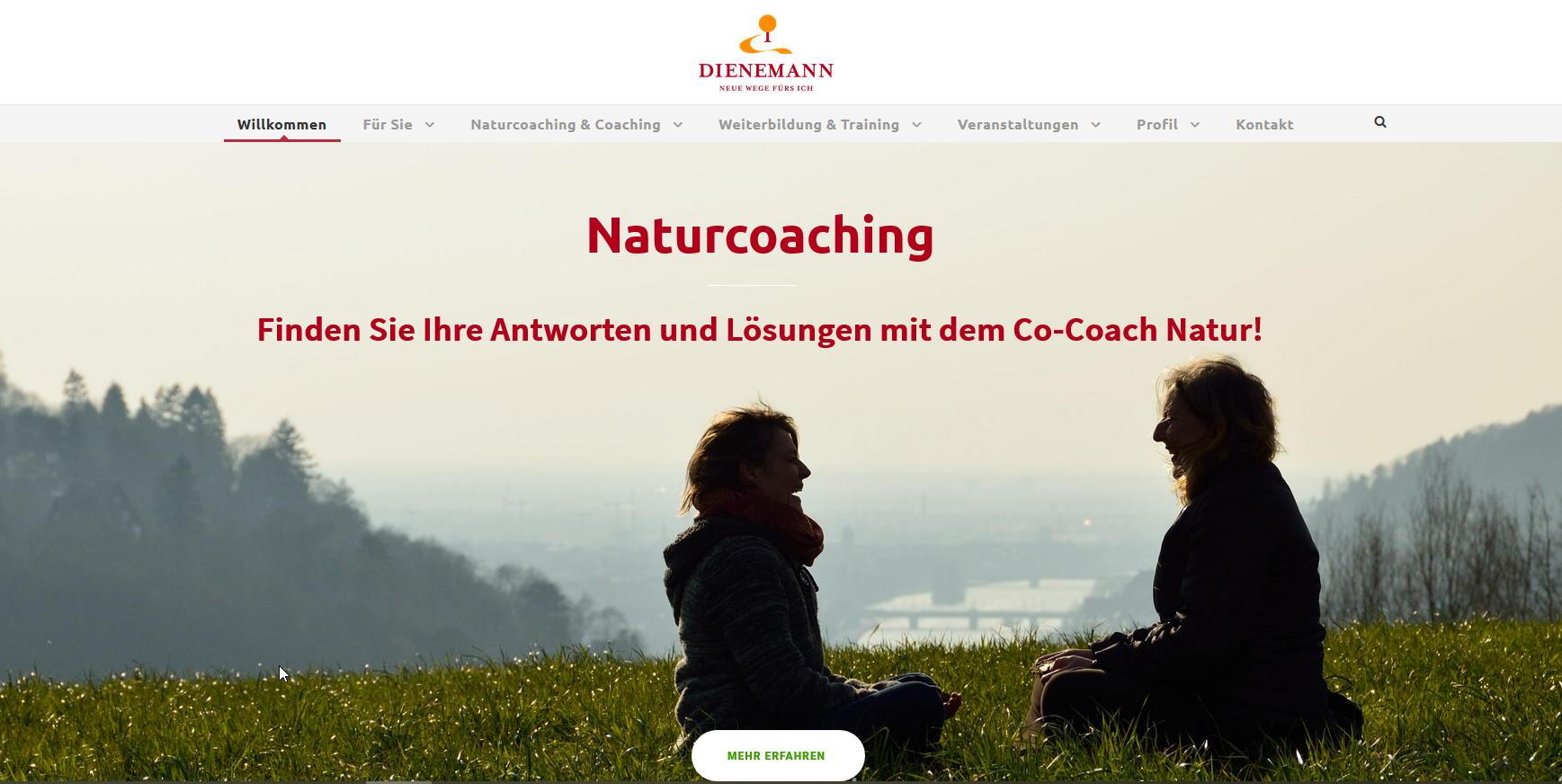 Katja Dienemann Naturcoaching Startseite Web